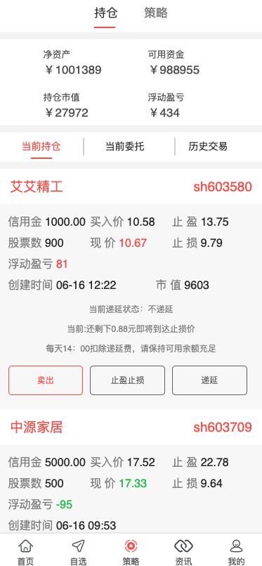 【亲测源码】完美版VUE的股票配资系统/点策略/在线炒股配资/点买点策略系统插图1