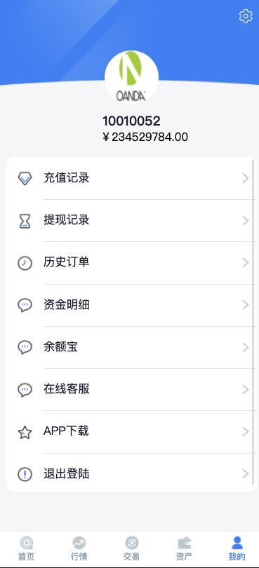 【亲测源码】领峰国际白色简洁微盘交易微盘二开K线完美版源码下载插图4